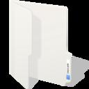 clear folder icon
