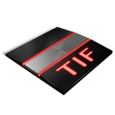 tif, file, document, paper icon