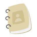 contact up, notepad, address, customer service, profile, contact book, support icon