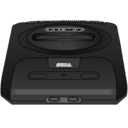 sega,genesis,black icon