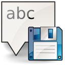 as, save, document icon