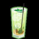 Cocktail, Mojito icon