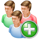 Add, Group icon
