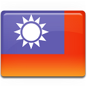 taiwan, flag icon
