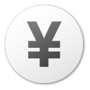 money, cash, yuan, coin, currency icon