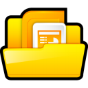 microsoft, powerpoint, ppt icon