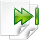 Actions go last view page icon