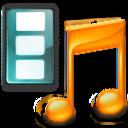 film, movie, music, itunes, multimedia icon