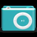 shuffle,blue icon