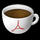 Acrobat, Coffee icon