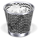 Bin, Can, Full, Recycle, Trash icon