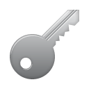 password, key icon