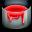 tutorial, paintbucket icon