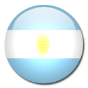 country, flag, argentina icon
