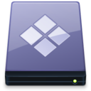 BootCamp Disk Vista icon