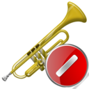 Cancel, Trumpet icon