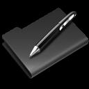 edit, paint, black, draw, graphics, pencil, write, writing, pen icon