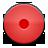 button, red, record icon