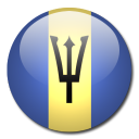 country, barbados, flag icon