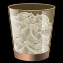 bin, recycle, full icon