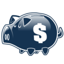 piggy, bank, savings, money icon