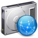 document, file, server, paper, drive icon