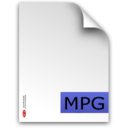 mpg,fileextension icon