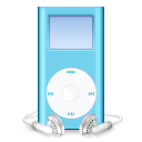 iPod mini blue icon
