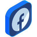 facebook, social, network, media, internet, online, communication icon