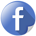 fb, share, book, facebook, hand icon