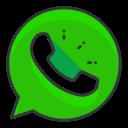 whatsapp, social, communication, network, media icon
