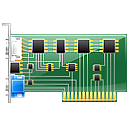display card, graphic, graphic card, hardware icon