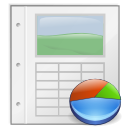 Application, Gnome, Mime, Template, Vnd.Oasis.Opendocument.Presentation icon