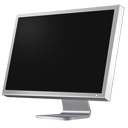 cinema, computer, diagonal, display, monitor, screen icon