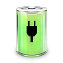 full, energy, power, battery icon