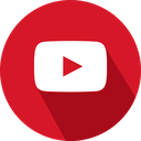 social network, logo, youtube icon