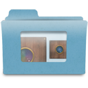 camera, folder, niepce, photography, obscura icon
