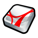 adobe,acrobat,reader icon