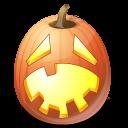 jack o lantern, halloween, pumpkin, hysterical icon