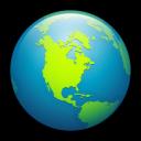 world, globe, earth icon