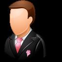 groomsman, wedding icon