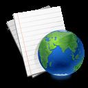 document, paper, file, internet icon