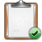 clipboard, check icon