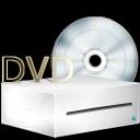 lecteur, box, disc, dvd icon