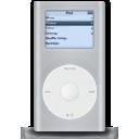 ipod, mini, grey icon