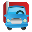 transport, transportation, lorry, automobile, vehicle, truck icon