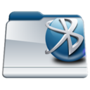 bluetooth,folder icon