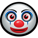 funny, happy, mask, clown, pennywise, carnival icon