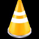 Cone, Traffic, Vlc icon