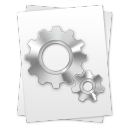 paper, setting, file, configure, document, preference, config, option, configuration icon